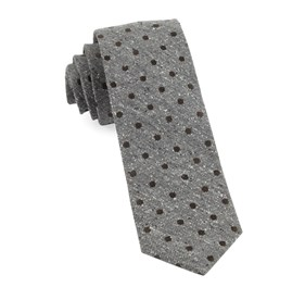 Brown Revolve Dots ties