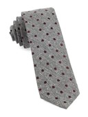 Ties - Revolve Dots - Burgundy