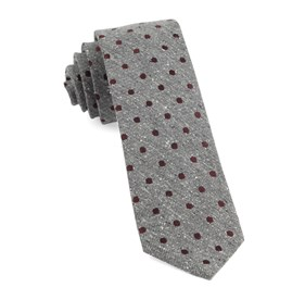 Burgundy Revolve Dots ties