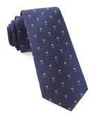 Ties - Fully Stocked - Navy
