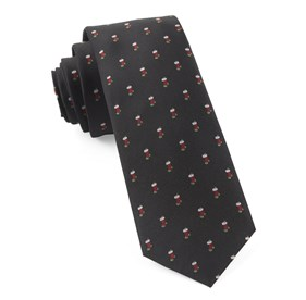 Black Fully Stocked ties