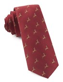 Ties - Vixen - Apple Red