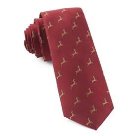 Vixen Apple Red Ties