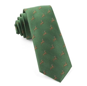 Clover Green Vixen ties