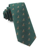 Ties - Buck Wild - Hunter Green