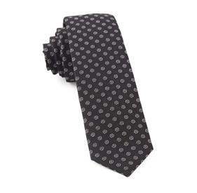 Black Eagle Eye Medallion ties