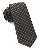 Ties - Eagle Eye Medallion - Classic Black