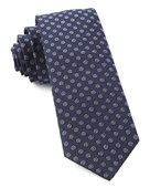 Ties - Eagle Eye Medallion - Navy