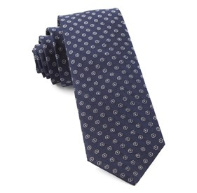 Eagle Eye Medallion Navy Ties