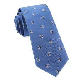Blue First String Crest ties
