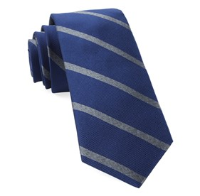 Wheelhouse Stripe Navy Ties