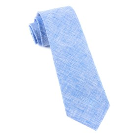 Freehand Solid Light Blue Ties
