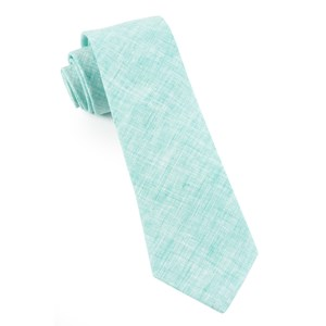freehand solid spearmint ties