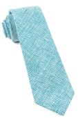 Ties - Verse Check - Green Teal