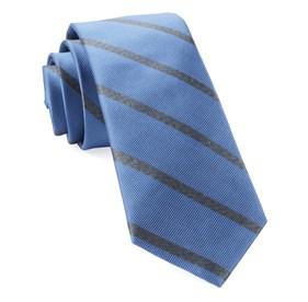 Wheelhouse Stripe Light Blue Ties