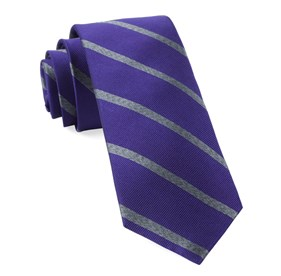 Plum Wheelhouse Stripe ties