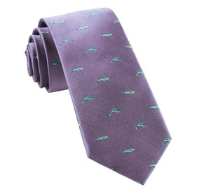 Lavender Go Fish ties