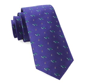 Turtle Island Plum Ties