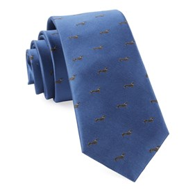 Slate Blue Dog Days ties
