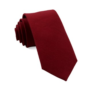 cardinal solid red ties
