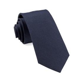 Cardinal Solid Navy Ties