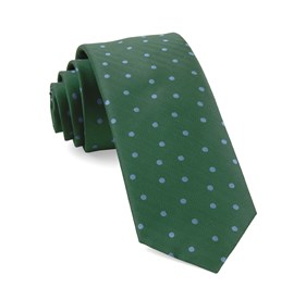 Kelly Green Jackson Dots ties