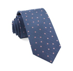 Blue Jackson Dots ties