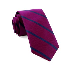Wheelhouse Stripe Azalea Ties