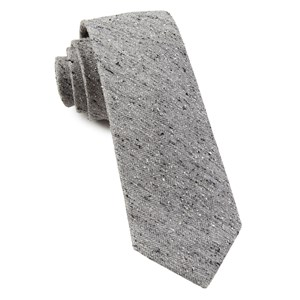 buff solid silver ties