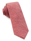 Ties - BUFF SOLID - RED