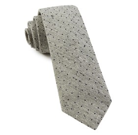 Dotted Peace Sage Green Ties