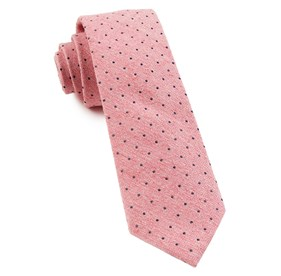 Pink Dotted Peace ties