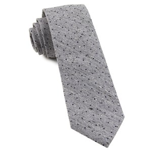 dotted peace soft lavender ties