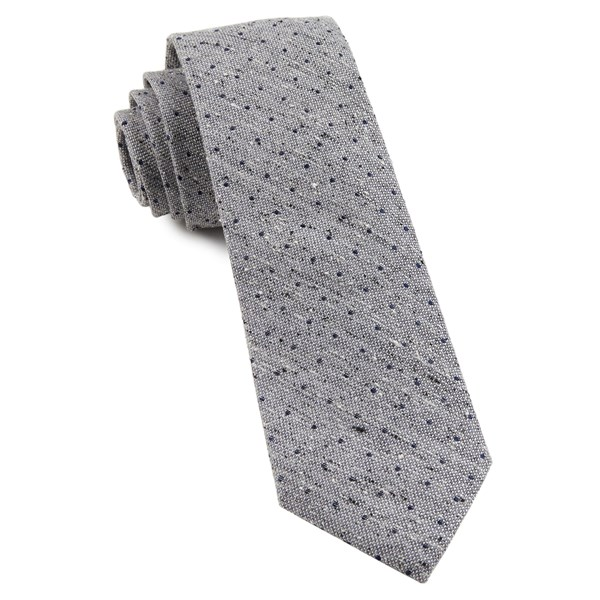 Soft Lavender Dotted Peace Tie