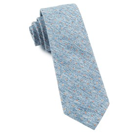 Light Serene Blue Dotted Peace ties