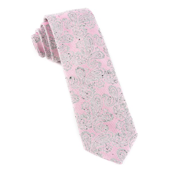 Baby Pink Hanging Paisley Tie