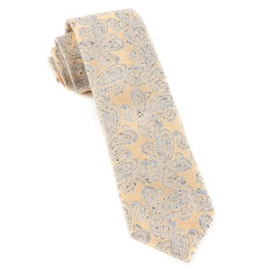 hanging paisley butter ties