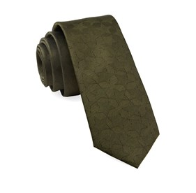 Army Green North Stars By Dwyane Wade ties