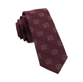 Burgundy Native Thread By Dwyane Wade ties