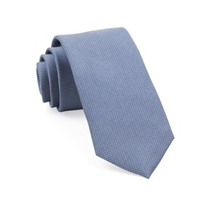 union solid slate blue ties
