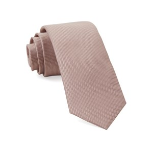 union solid blush pink ties