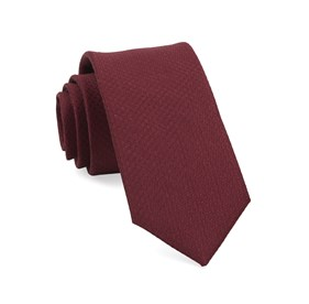 Burgundy Dotted Spin boys ties