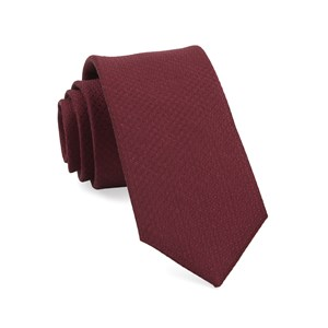 dotted spin burgundy ties