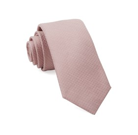 Blush Pink Dotted Spin ties
