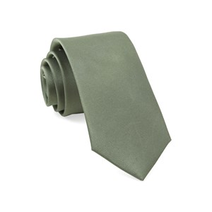 grosgrain solid sage green boys ties