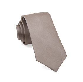 Sandstone Grosgrain Solid boys ties