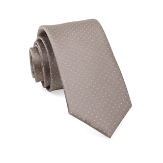 mini dots sandstone boys ties