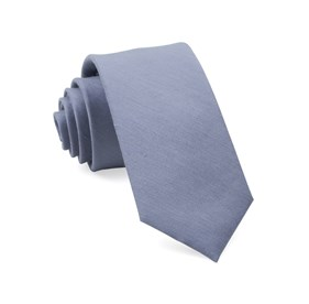 Slate Blue Linen Row ties