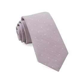 Mauve Stone Bulletin Dot ties