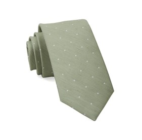 Sage Green Bulletin Dot ties